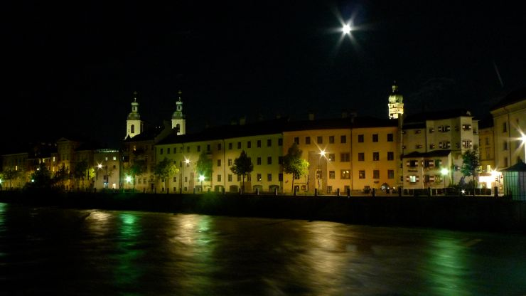 Innsbruck at night
