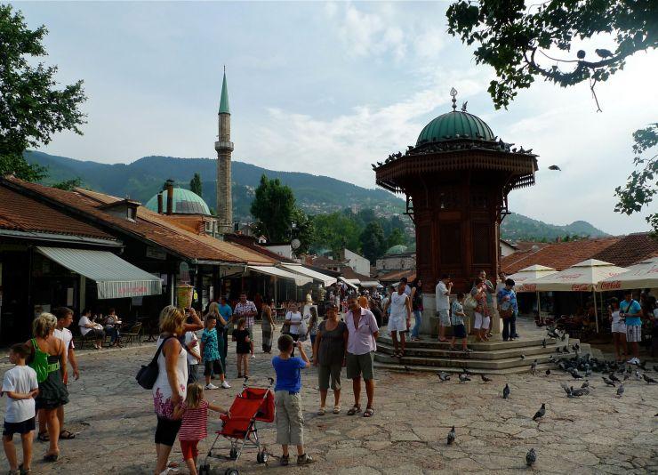 Sarajevo nähtävyydet