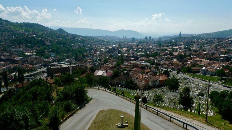 Kuusi kuvaa Sarajevosta