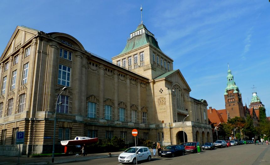 Szczecin merimuseo Puola