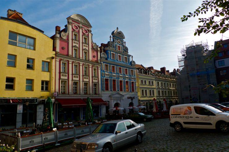 Szczecin stare miasto