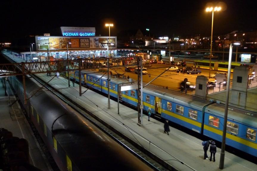 Jännittävä junamatka Lubliniin