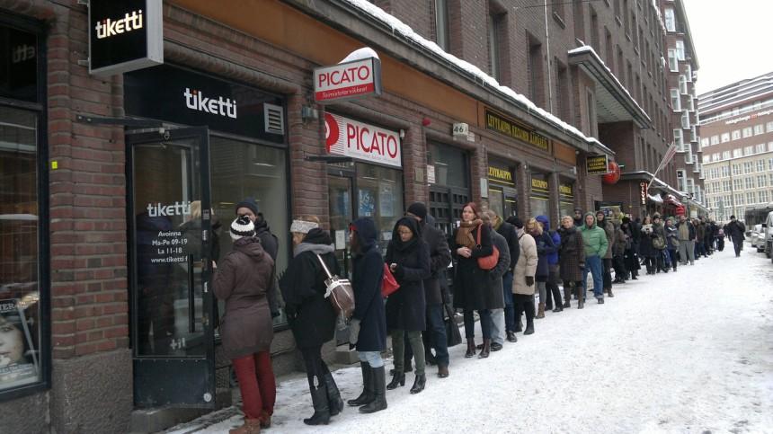 Helsingissä taisteltiin Ultra Bra -lipuista