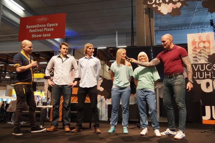 Vuoden traveller 2012 finaali matkamessut
