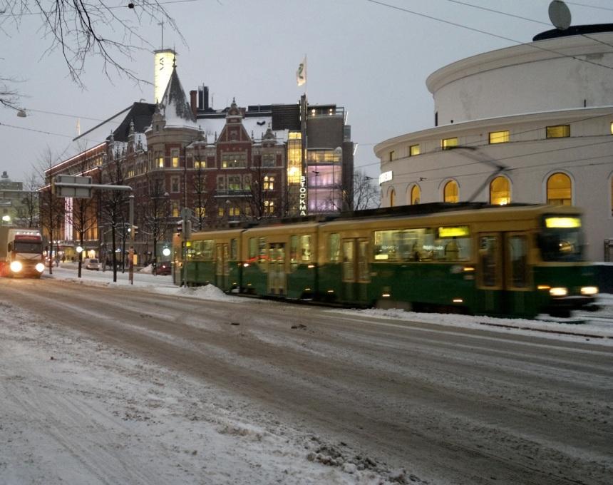 Raitiovaunu Helsinki