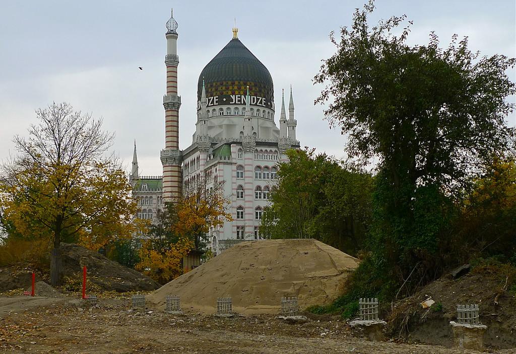 Kuin moskeija ikään – Yenidze, Dresdenin erikoisin nähtävyys