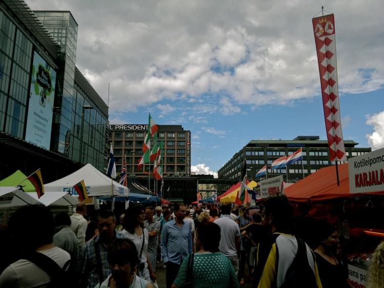 Kampin kansainvälisillä suurmarkkinoilla