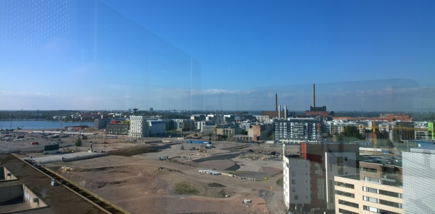 Verkkokauppa.comin näköalatasanne Helsingissä