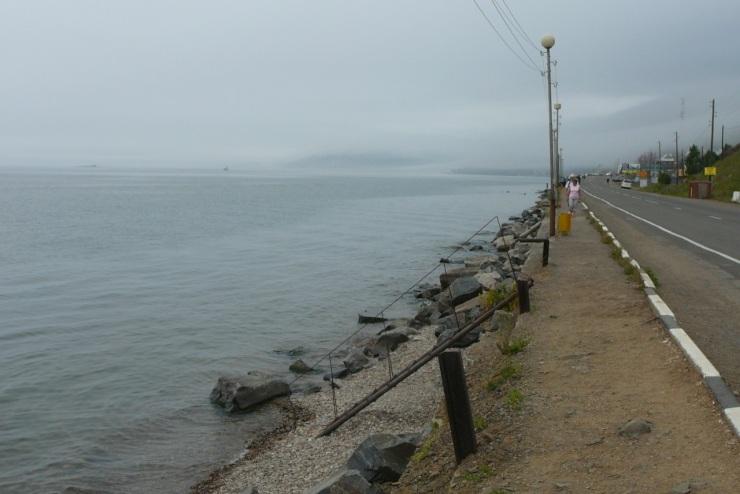Listvyanka-Baikal-rantabulevardi
