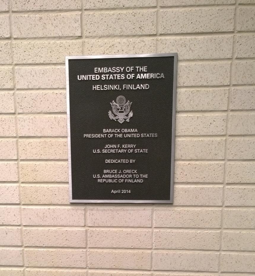 Matkabloggaajien ilta USA:n suurlähetystössä