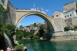Bosnian Mostar – kontrastien kaupunki