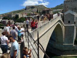 Bosnian Mostar - kontrastien kaupunki