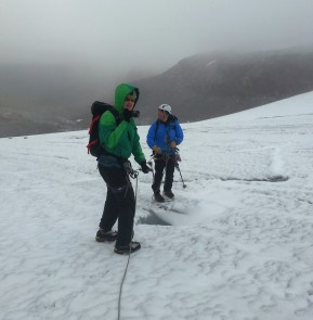 Jäätikkövaellus kokemuksia