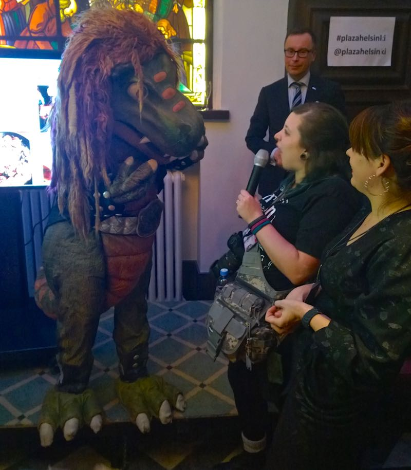 Hevisaurus Nordic Bloggers' Experience