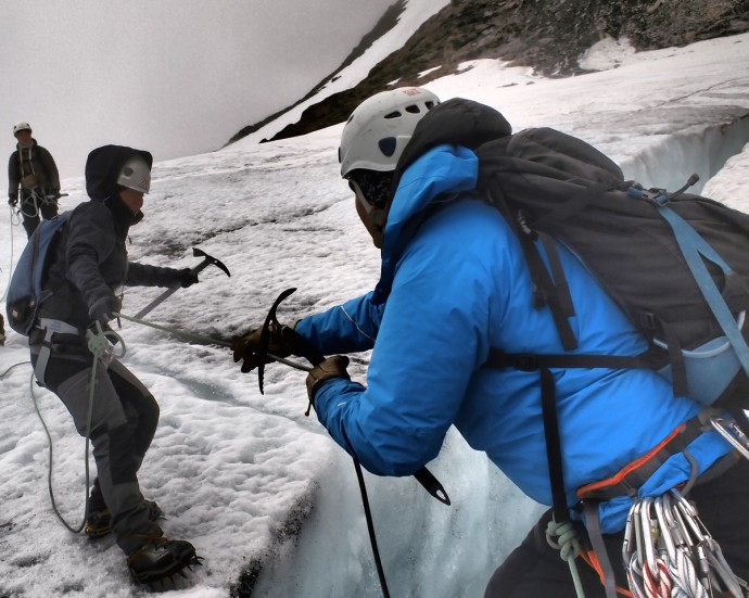 Jäätikkövaellus blogi