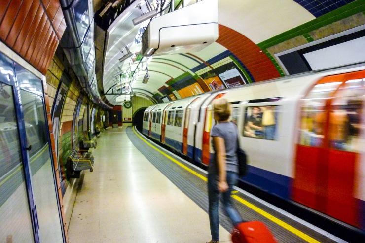 Lontoon metro blogi